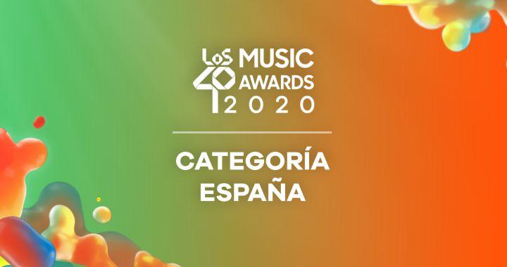 LOS40 MUSIC Awards 2020: Nominados en la Categoría España