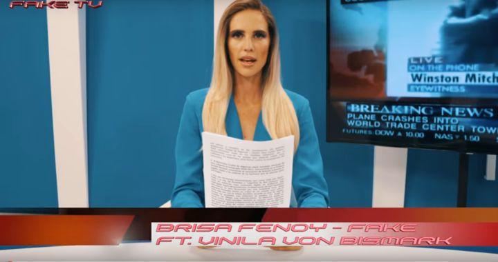 Brisa Fenoy presenta 'Fake', su particular crítica a las noticias falsas