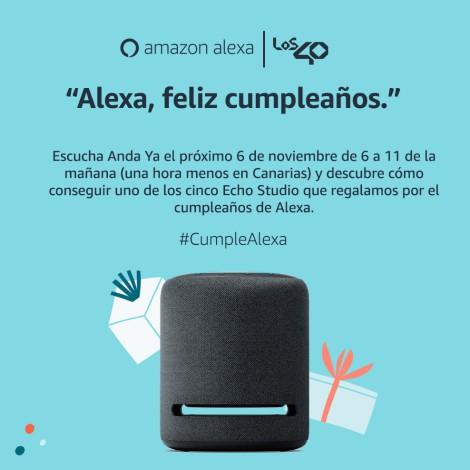 BASES LEGALES - CONCURSO AMAZON ECHO STUDIO