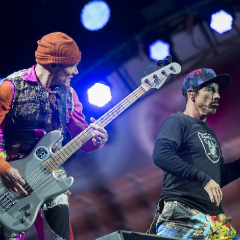Flea y Anthony Kiedis celebran 43 años de amistad en los Red Hot Chili Peppers