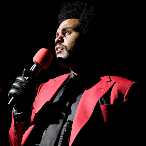 The Weeknd actuará en el intermedio de la Super Bowl 2021
