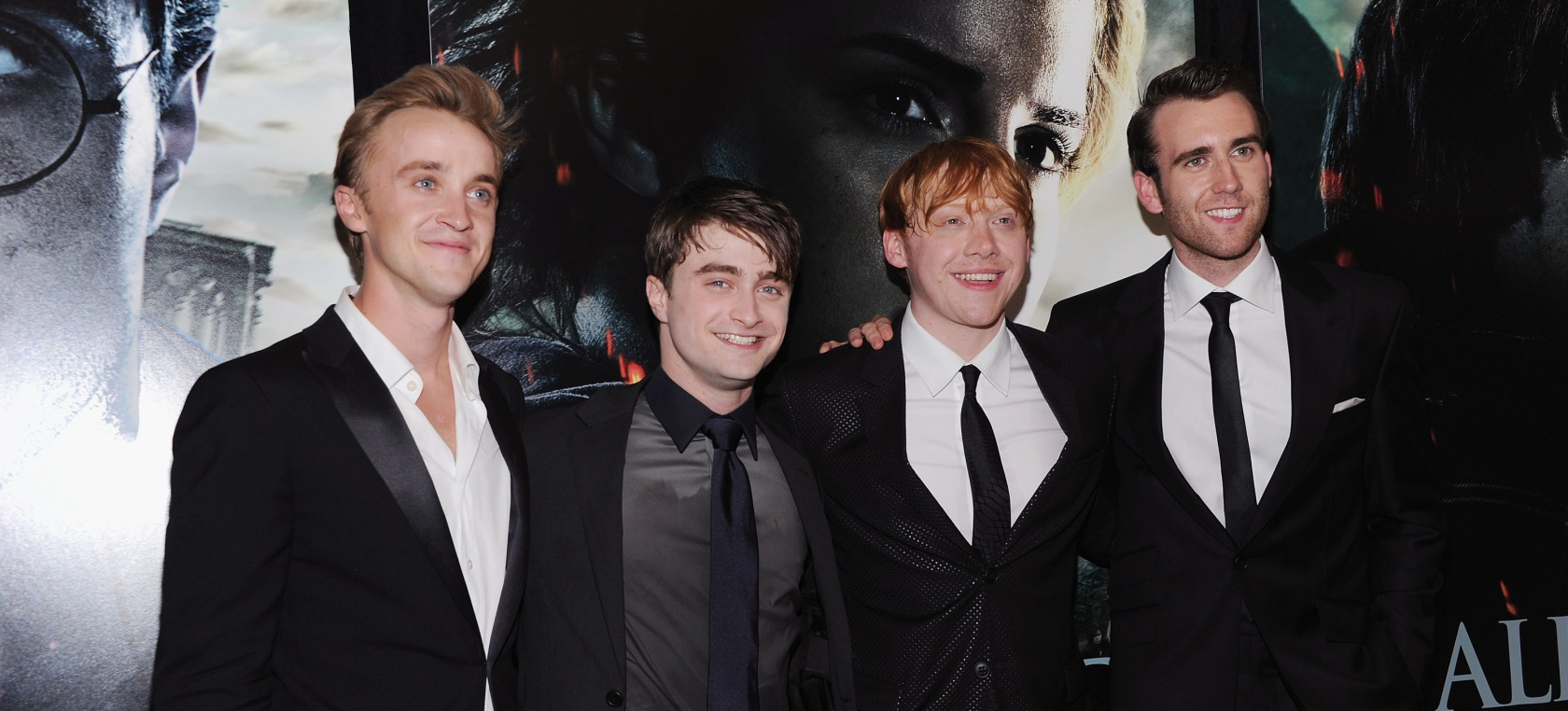 Extraña reunion Harry Potter