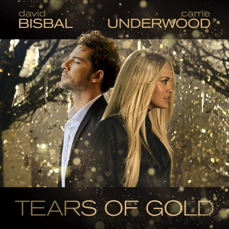 David Bisbal y Carrie Underwood estrenan 'Tears Of Gold': ¡mira el vídeo!
