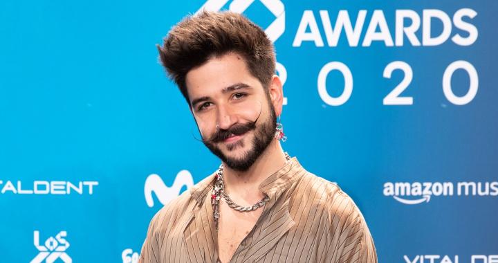 Camilo casi pierde el BIGOTE en el PRESHOW de LOS40 Music Awards 2020