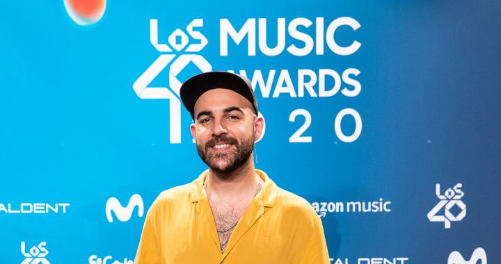 Nil Moliner y Dani Fernández hablan de su pique en WhatsApp en el PRESHOW de LOS40 Music Awards