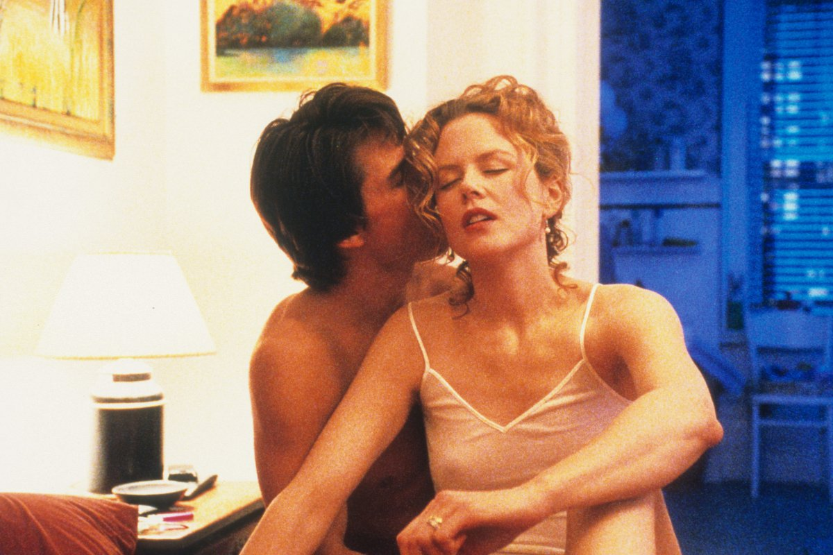La tensión sexual de Cruise y Kidman en 'Eyes Wide Shut'