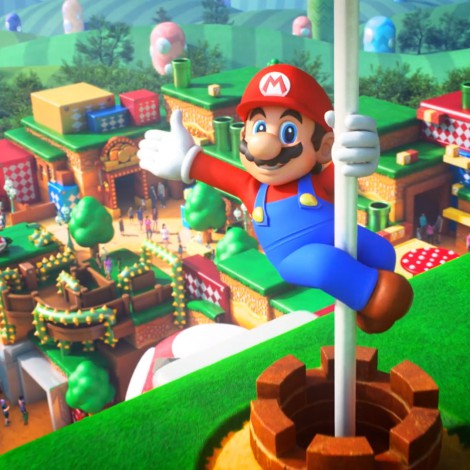 Miyamoto hace un tour por Super Nintendo World