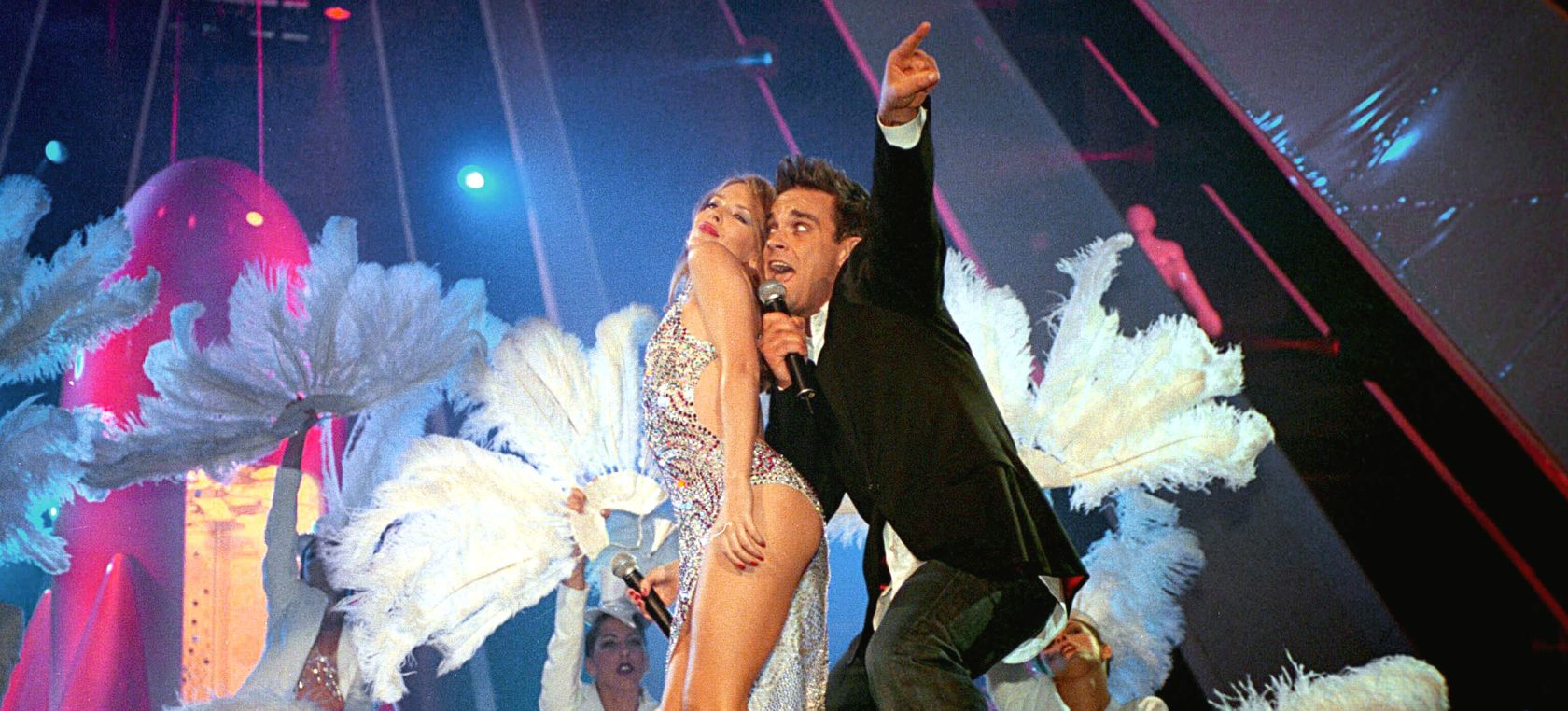 Robbie Williams confirma un nuevo dúo con Kylie Minogue