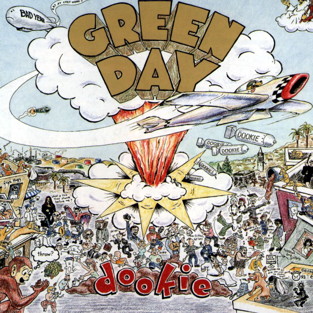 Green Day – 'Dookie' (1 de febrero de 1994)