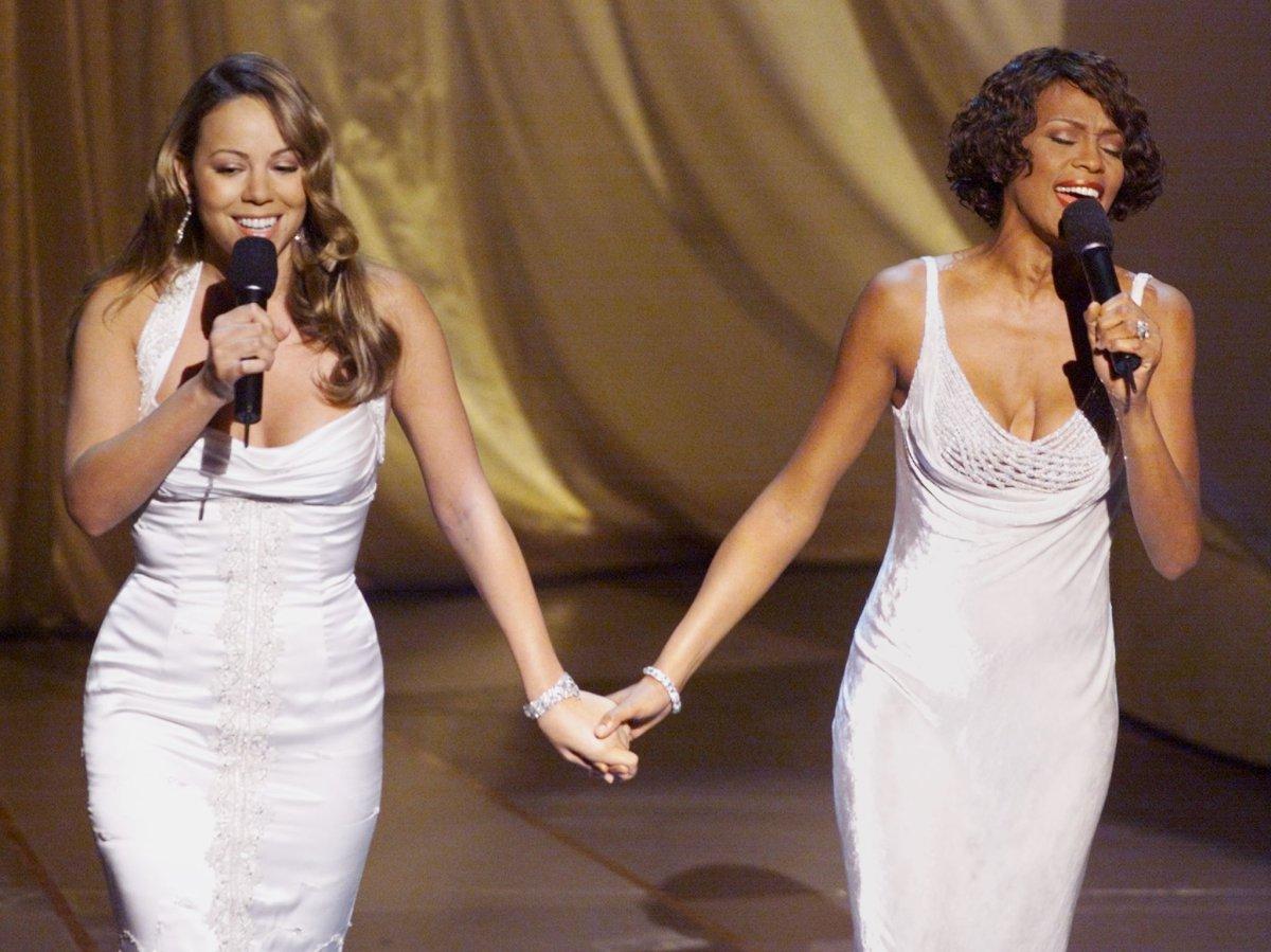 Su Oscar con Mariah Carey (1999)