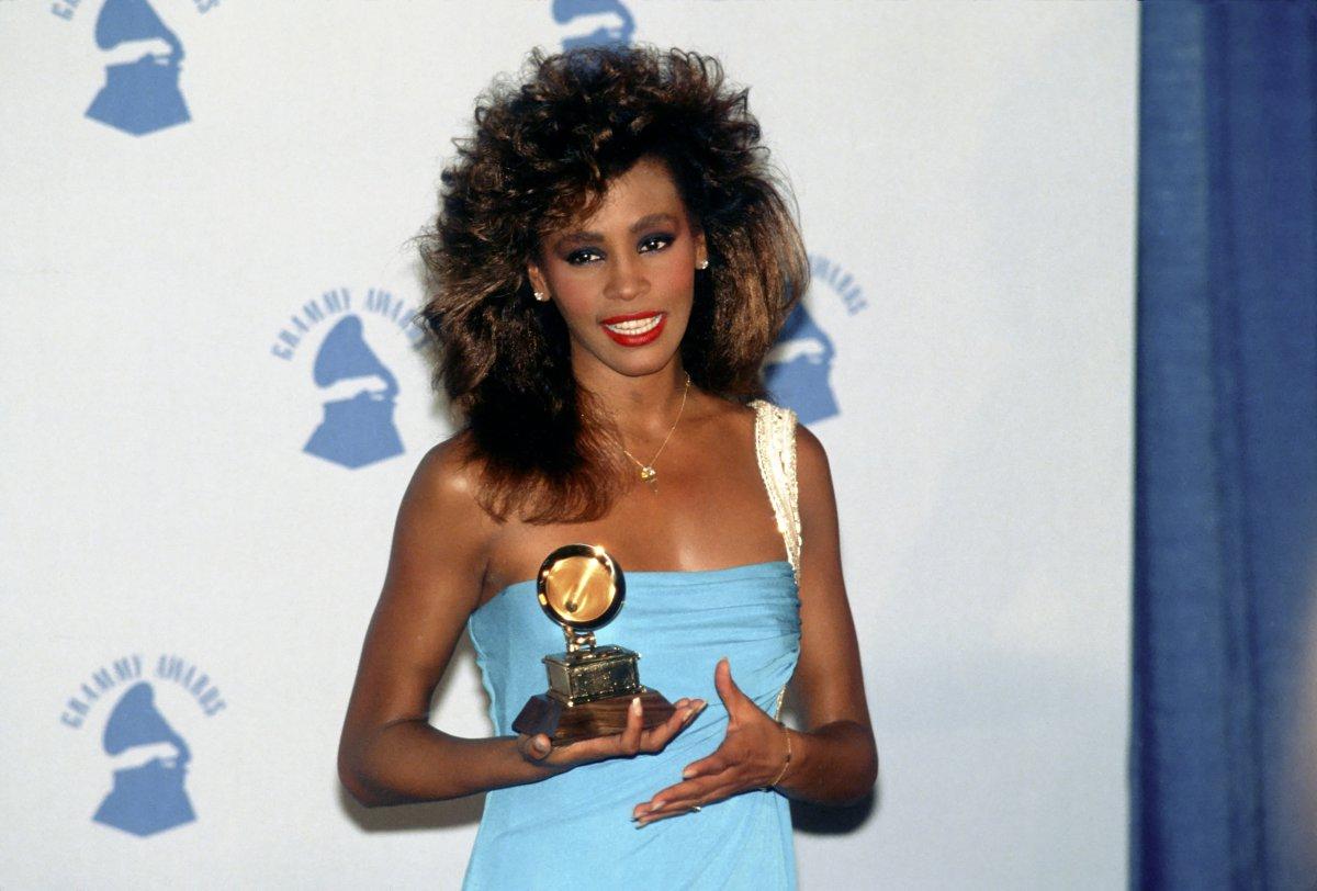 Su primer premio Grammy (1986)