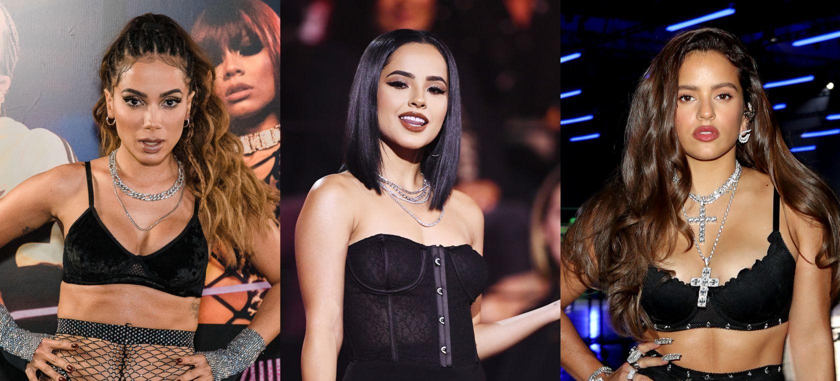 Rosalía, Anitta y Becky G, ¿nueva colaboración?