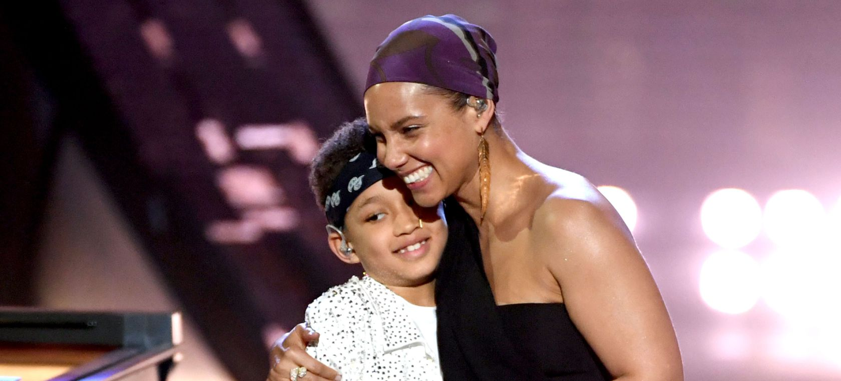 Alicia Keys y su hijo Egypt