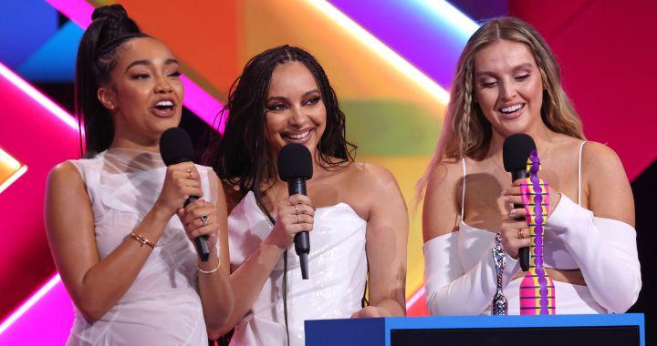 Little Mix hace historia en los Brits y se acuerda de Spice Girls, Girls Aloud, Sugababes...