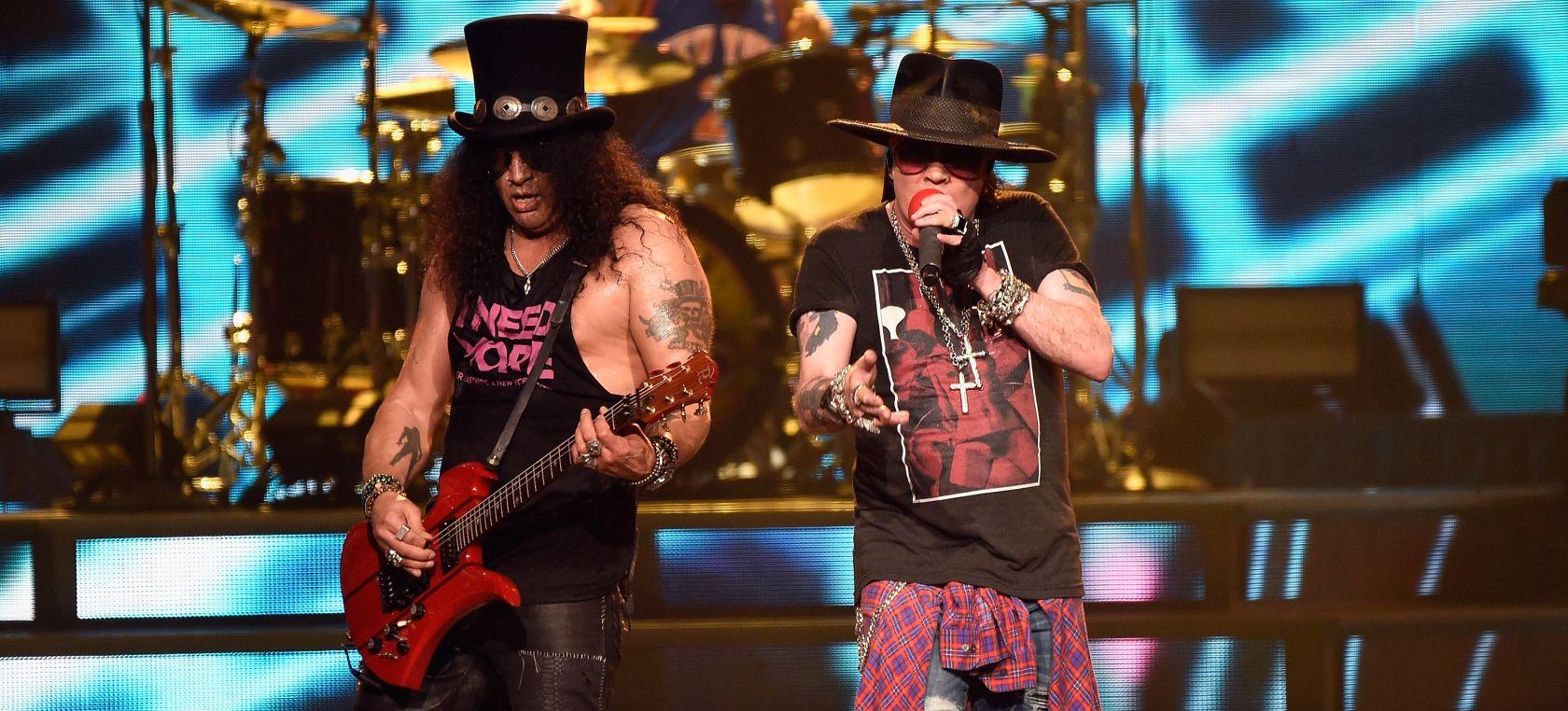 Guns N' Roses estrena 'Absurd', su primera canción inédita en 13 años