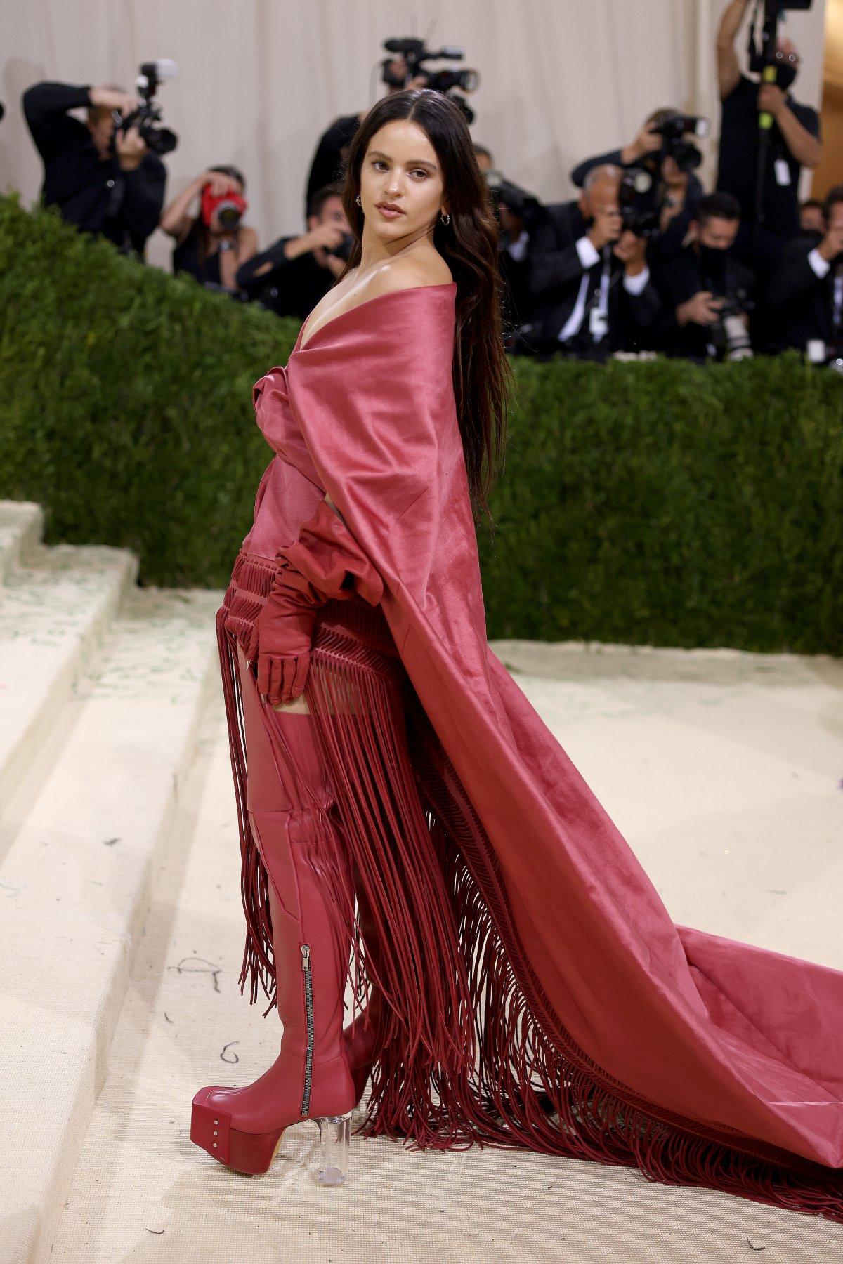 Rosalía, at the MET 2021 gala