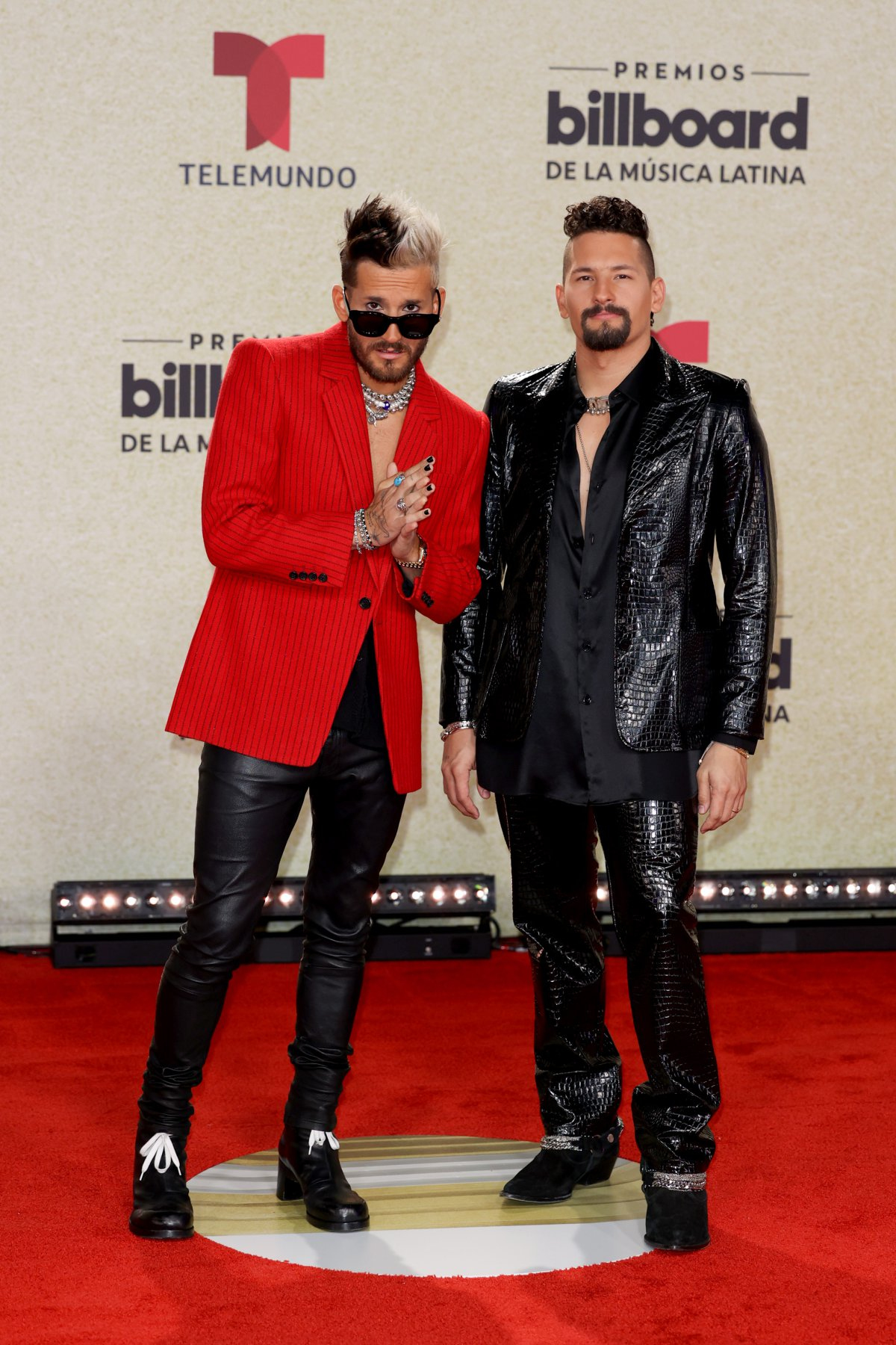 Mau and Ricky, at the Latin Billboard Awards