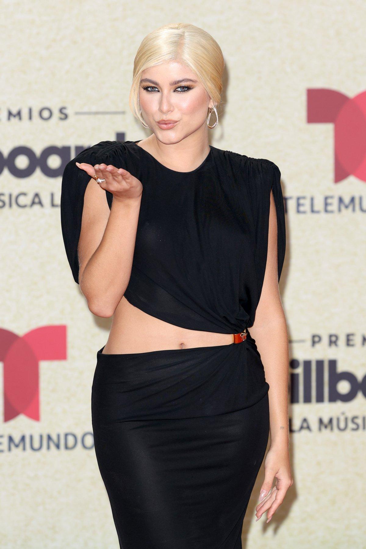 Sofía Reyes, at the Latin Billboard Awards