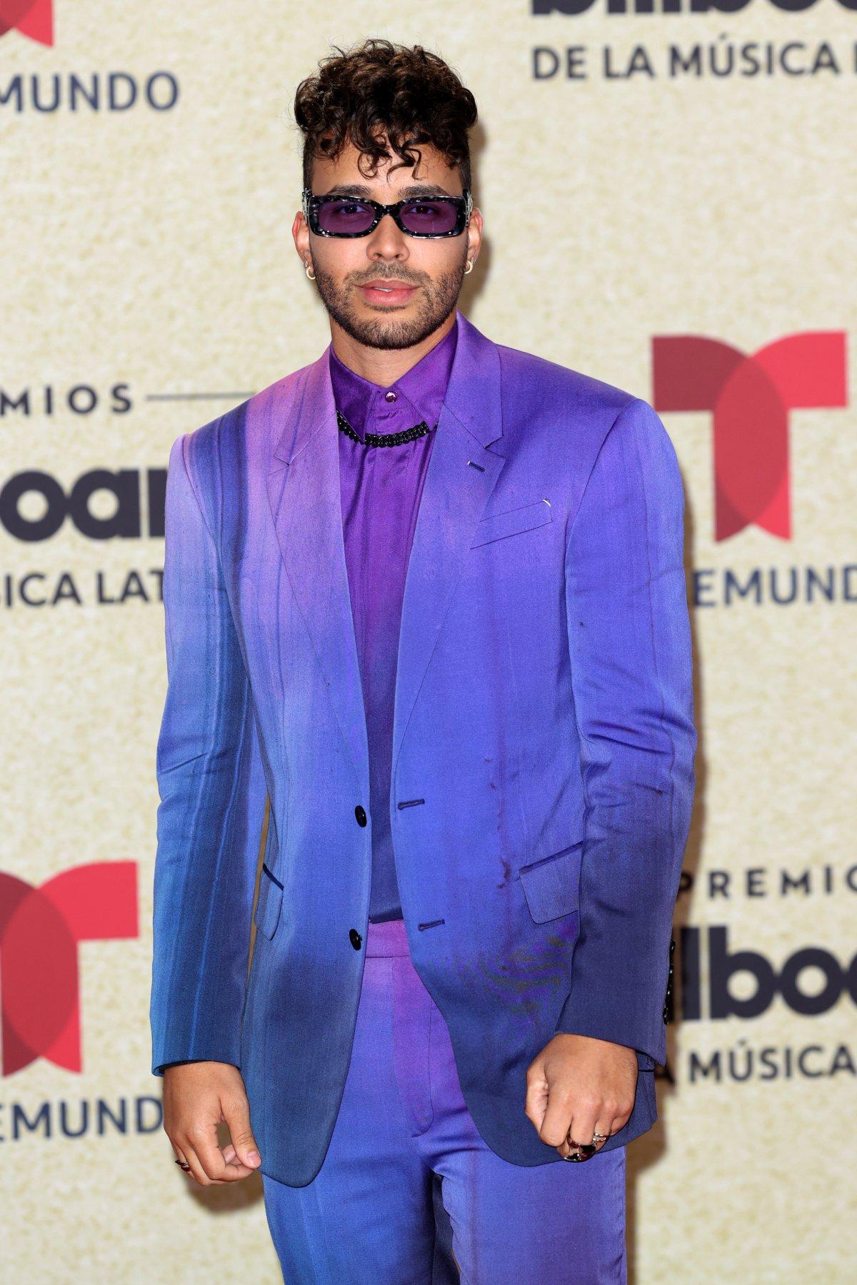 Prince Royce, at the 2021 Latin Billboard Awards