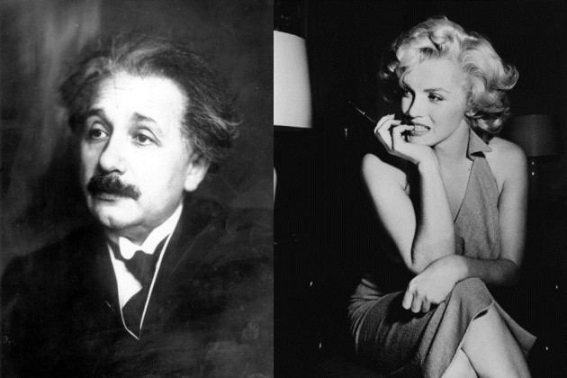 Marilyn Monroe superaba en cociente intelectual a Albert Einstein