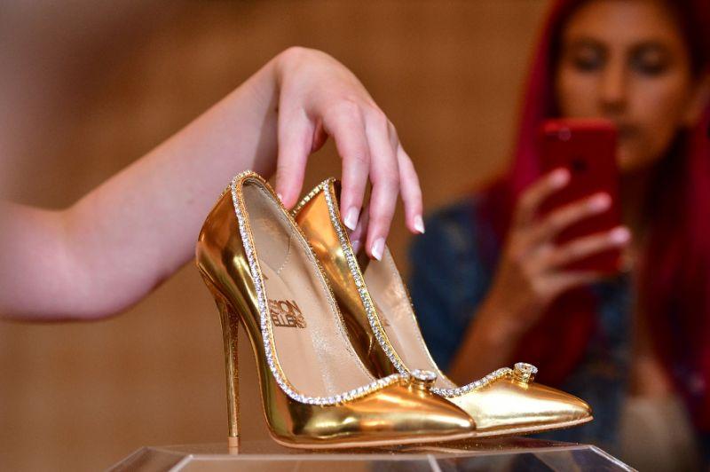 Los zapatos más caros del mundo cuestan más de 14 millones
